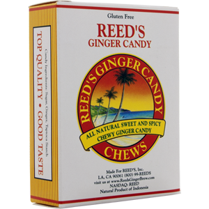 Reeds Candied Ginger Chews Tin