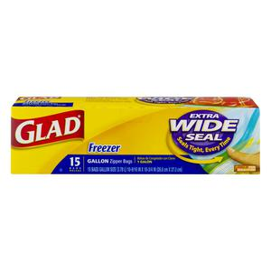 Glad Freezer Bags - 1 Gallon