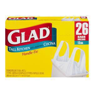 Glad Trash - Kitchen Handle Tie