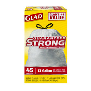 Glad Trash - Kitchen Drawstring
