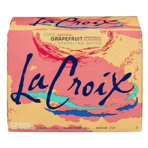 La Croix Sparkling Water - Grapefruit