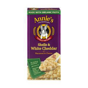 Annies Homegrown -Shells &  Mild White Cheddar