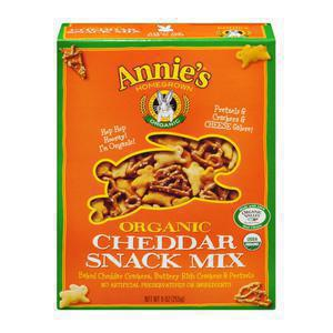 Annies Homegrown Cheddar Snack Mix
