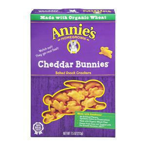 Annies Homegrown Cheddar Bunnies