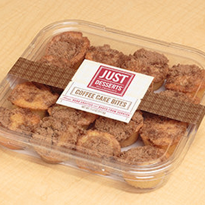 Just Desserts Sour Cream Coffee Cake Bites