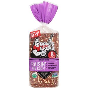 Daves Killer Bread - Raisin the Roof Raisin Bread