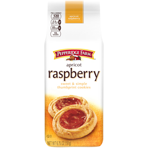 Pepperidge Farm Apricot Rasp Thumbprint