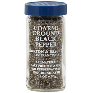 Morton & Bassett Coarse Ground Black Pepper