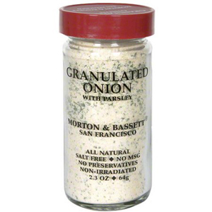 Morton & Bassett Granulated Onion w/ Parsley