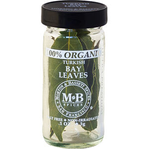 Morton & Bassett Organic Turkish Bay Leaves