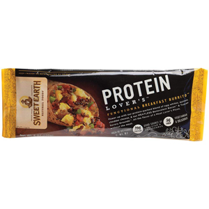 Sweet Earth Burrito - Protein Lovers