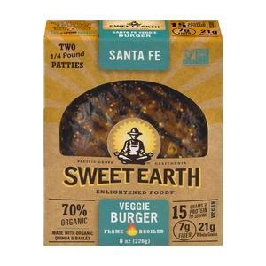 Sweet Earth Veggie Burger - Santa Fe