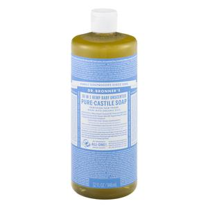 Dr. Bronners Unscented Liquid Baby Soap