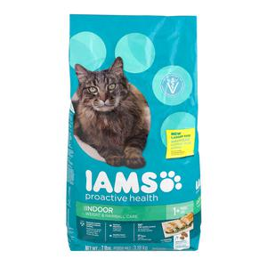 Iams Dry Cat - Indoor Weight Hairball Care