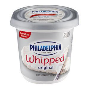 Philadelphia Cream Cheese Whipped