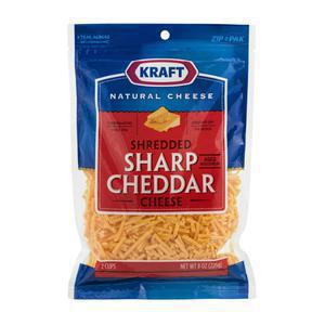 Kraft Cheese - Cheddar Sharp Shred