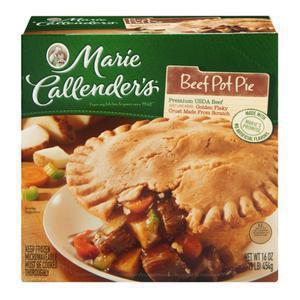 Marie Callender Pot Pie Beef