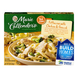 Marie Callender Fettuccini with Chicken & Broccoli