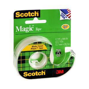 Scotch Clear Magic Tape .5