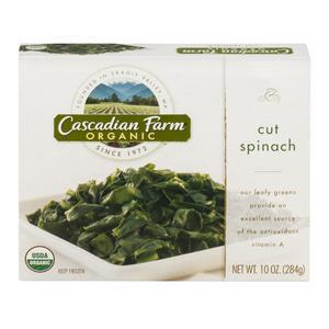 Cascadian Farms Cut Spinach