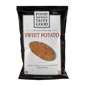 Food Should Taste Good - Sweet Potato Chips