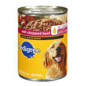 Pedigree Canned Dog - Chopped Beef