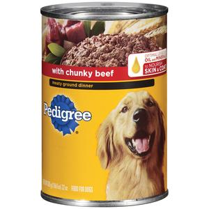 Pedigree Canned Dog - Chunky Beef
