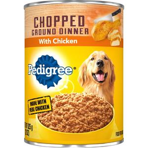 Pedigree Canned Dog - Chopped Chicken