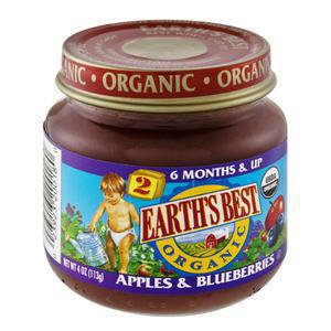 Earths Best Baby - 2nd Apples & Blueberry