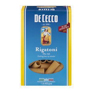 DeCecco Rigatoni Pasta
