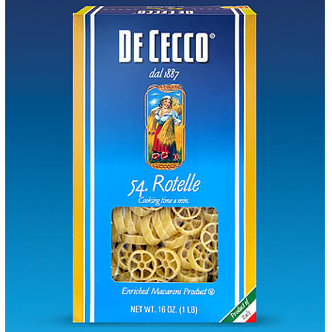DeCecco Rotelle Pasta