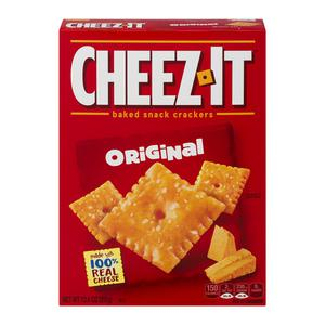 Cheez It Crackers Original
