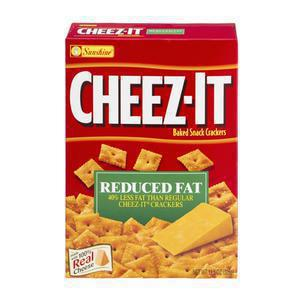 Cheez It Crackers Reduced Fat
