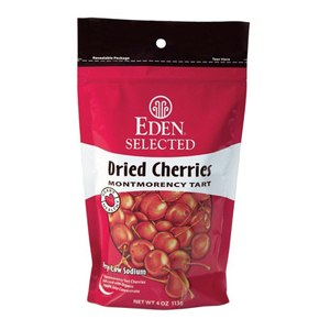 Eden Organic Dried Montmorency Tart Cherries