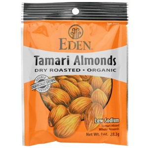 Eden Organic Pocket Snacks - Tamari Almonds