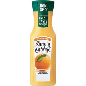 Simply Orange Juice - Pulp Free Single Serve