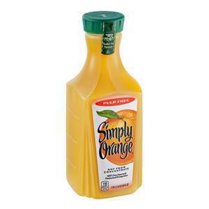 Simply Orange No Pulp