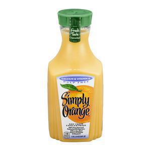 Simply Orange No Pulp with Calcium