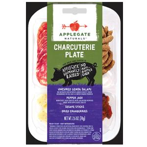 Applegate Charcuterie Plate - Salami & Pepper Jack