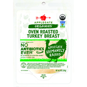 Applegate Farms Organic Roasted Turkey