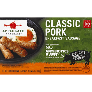 Applegate Farms Breakfast Sausage Pork