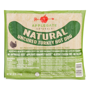 Applegate Farms Turkey Hot Dogs - Gluten Free