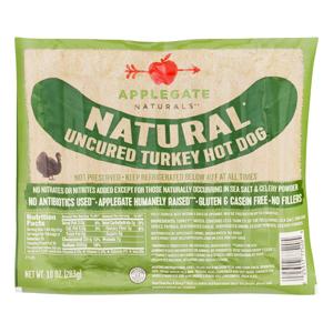 Applegate Farms Turkey Hot Dogs - Gluten Free