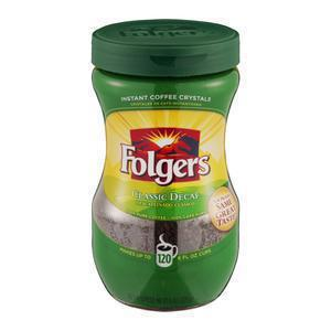 Folgers Decaf Instant Coffee