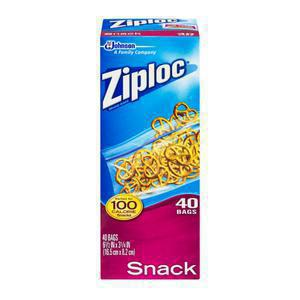 Ziploc Snack Size