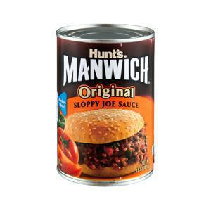 Manwich Sloppy Joe Sauce