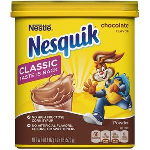 Nesquik Chocolate Drink Mix