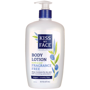 Kiss My Face - Body Lotion Olive & Aloe Fragrance Free