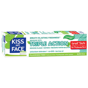 Kiss My Face - Toothpaste Triple Action Gel