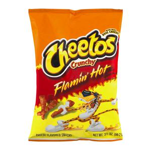 Cheetos Crunchy Hot